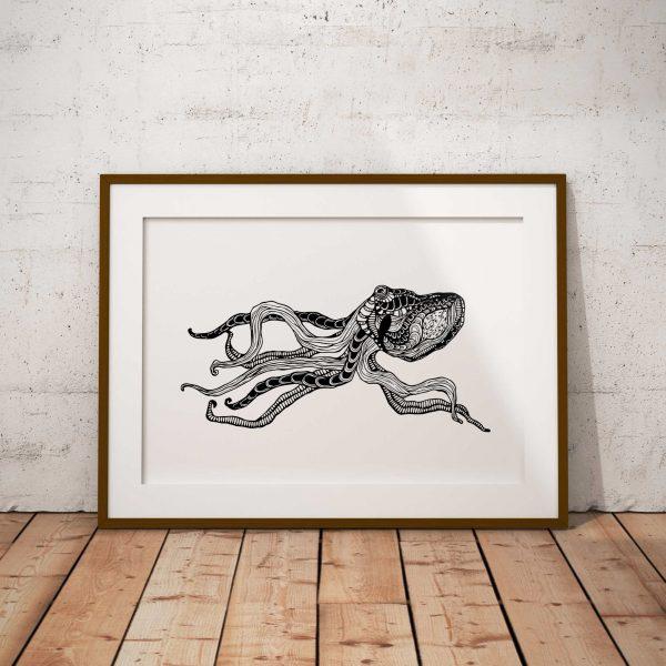 Octopus – The ocean