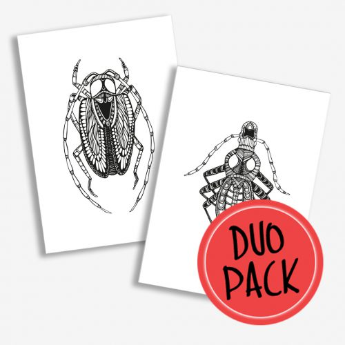Duo Pack Artprints Insects