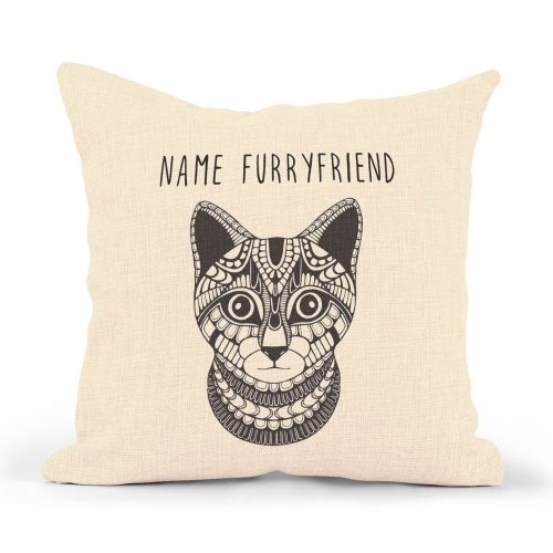 Set of 2 Customized Pillowcases – Cat