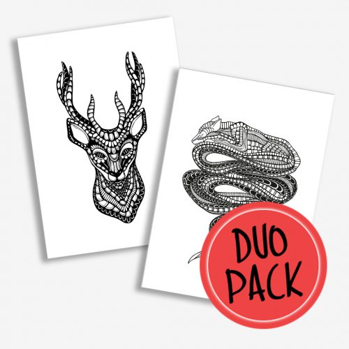 Duo Pack Artprints Forest