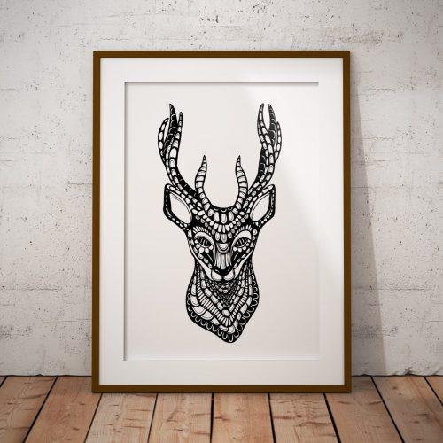 Artprint Deer