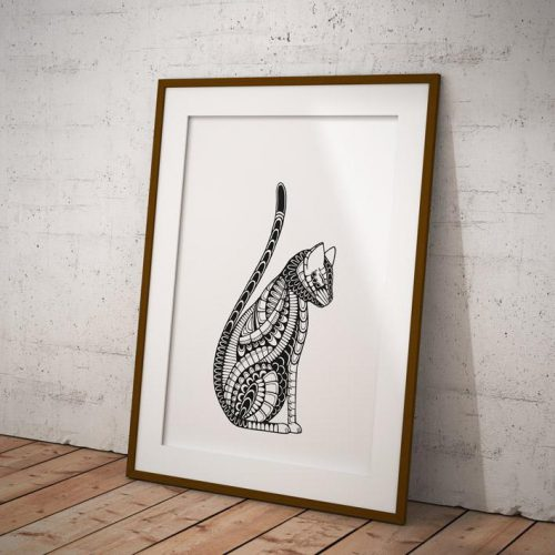 Artprint Cat