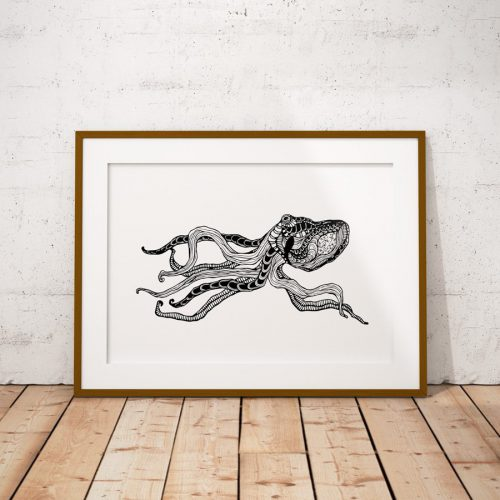 Artprint Octopus