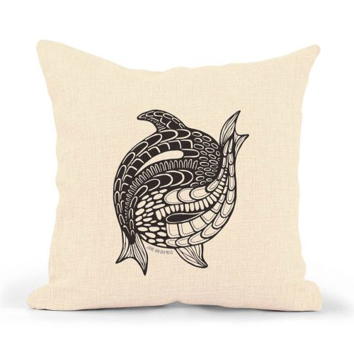Pillowcase – Yin Yang Fish