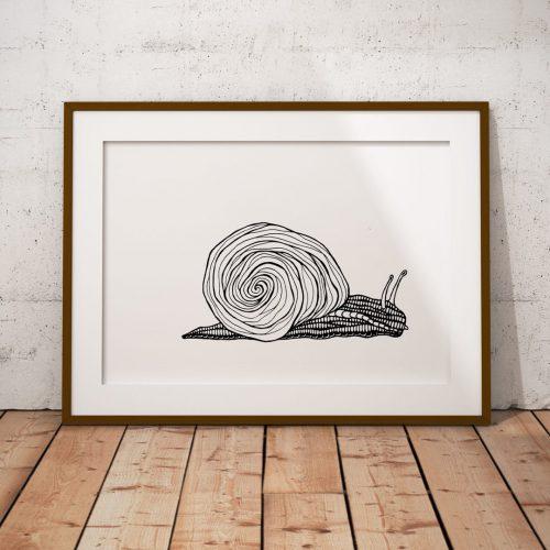 Artprint Snail