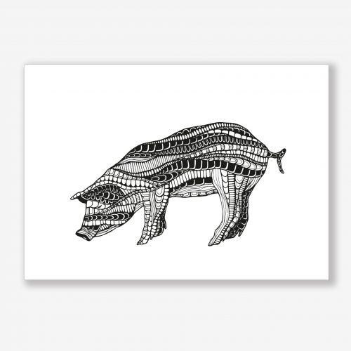 Artprint Pig