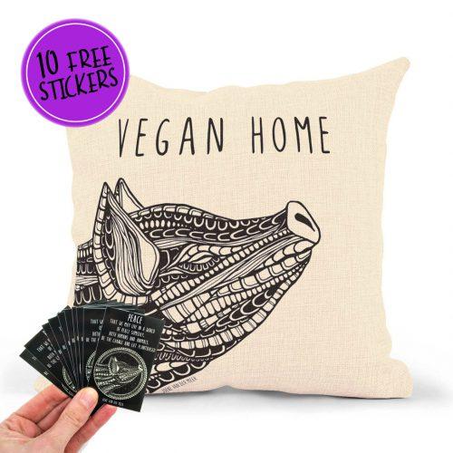Pillowcase – Vegan Home Pig