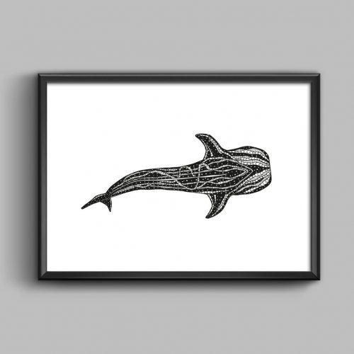 Artprint Whaleshark