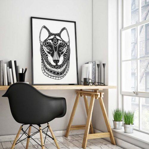 Artprint Wolf