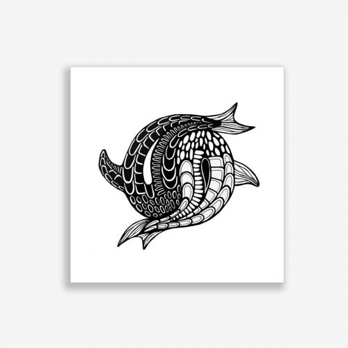 Artprint Yin Yang Fish (no text)
