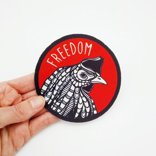 Sew-On Patch Rooster