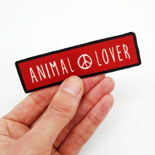 Sew-On Patch Animal Lover