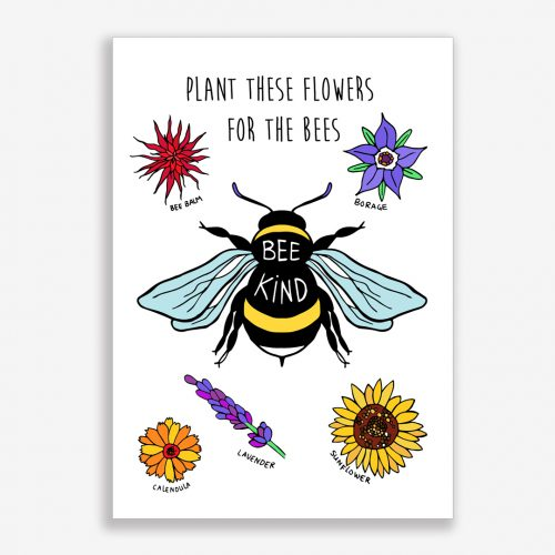 Artprint Bee Kind