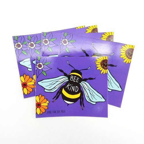 Stickers Bee Kind (4 pcs)