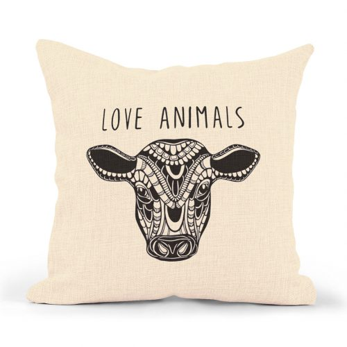 Pillowcase – Calf (love animals)