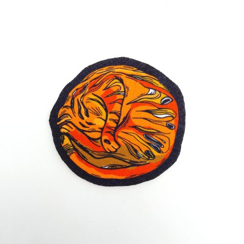 Sew-On Patch Planet Cat