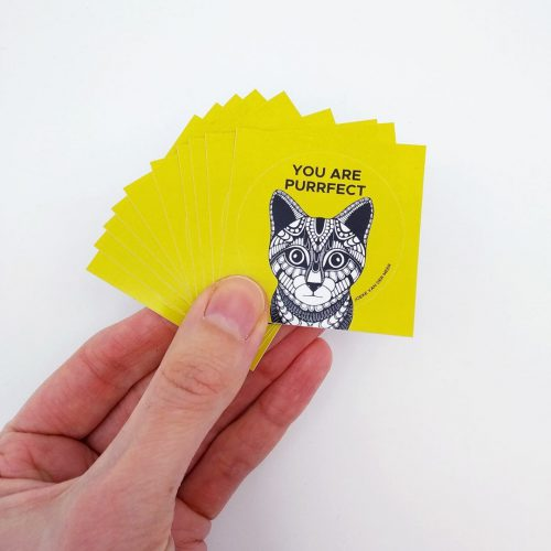 Stickers Cat (10 pcs)