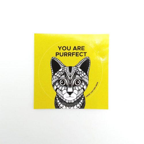 Stickers Cat (10 pcs)