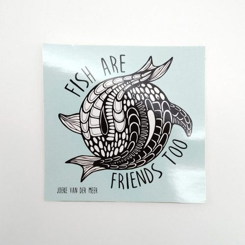 Stickers Fish (4 pcs)