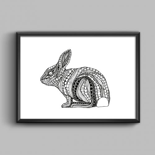 Artprint Bunny
