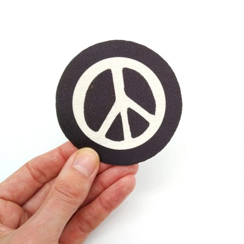 Sew-On Patch Peace Symbol