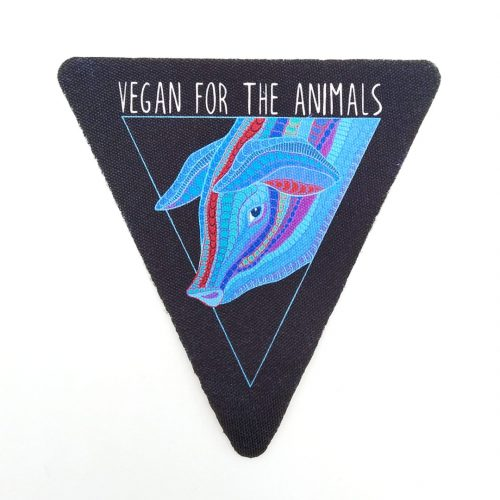 Sew-On Patch Pig Vegan