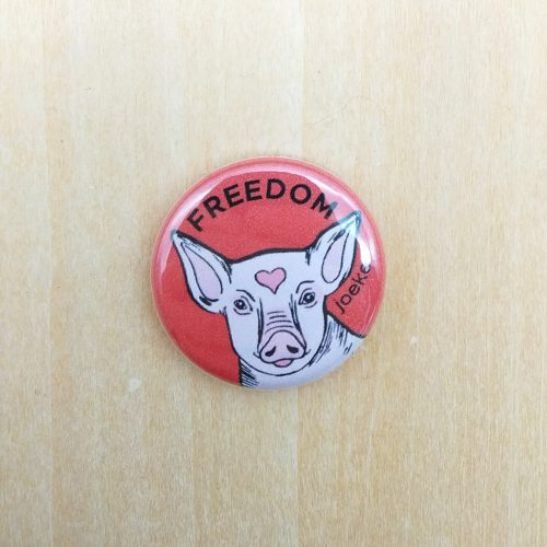 Pin – Pig Freedom