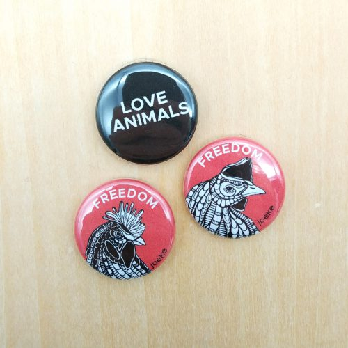 Pins – Chickens (3 pcs)