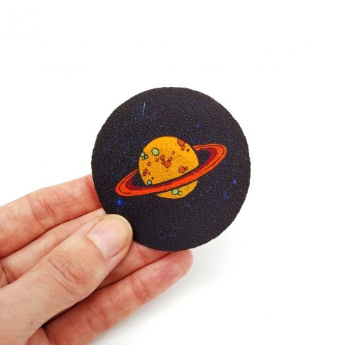 Sew-On Patch Planet