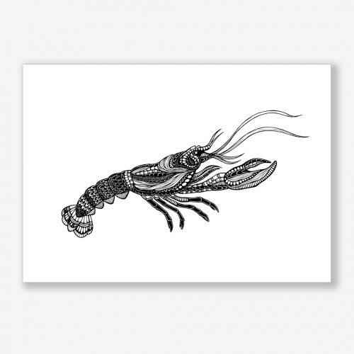Artprint Lobster