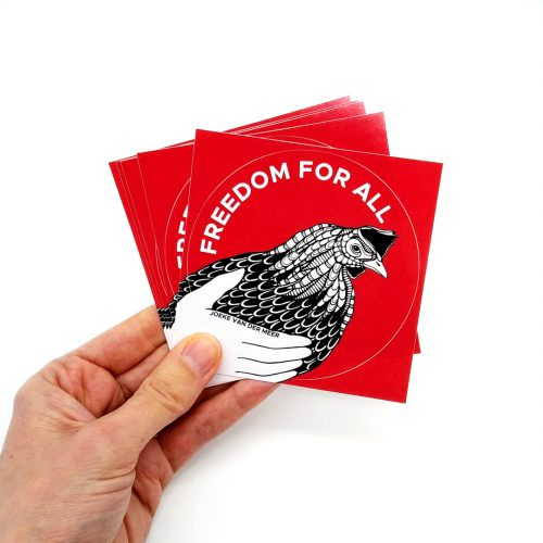 Stickers Freedom (4 pcs)