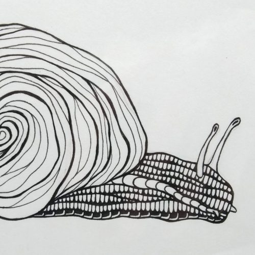 ORIGINAL Artwork – Snail