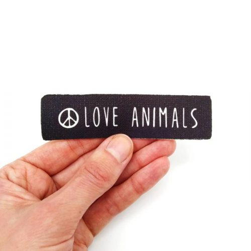 Sew-On Patch Love Animals