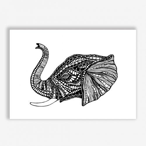 Artprint Elephant