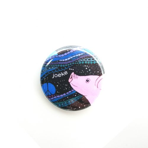 Pin – Pig looking at the stars