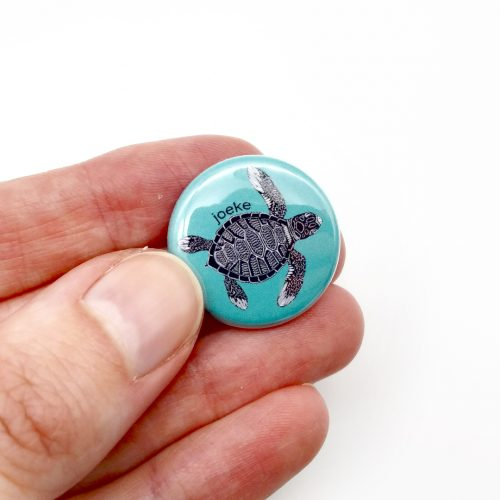 Pin – Green Turtle