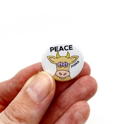 Pin – Cow Peace