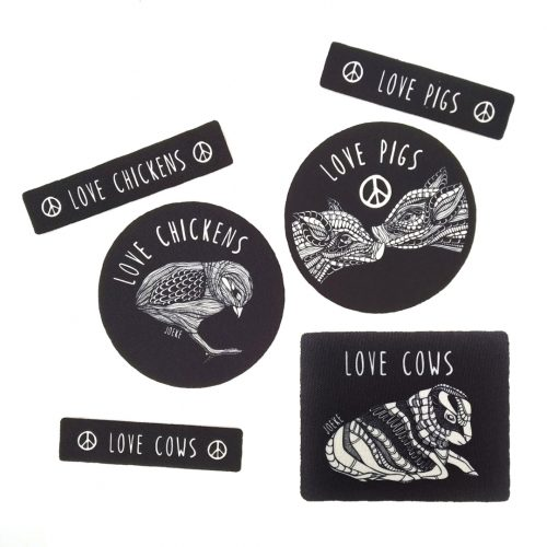 Big set of 6 Sew-On Patches ⭐
