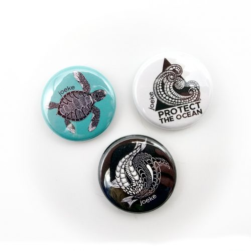 Pins – Water (3 pcs)