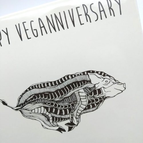 Tile Hog – Happy Veganniversary