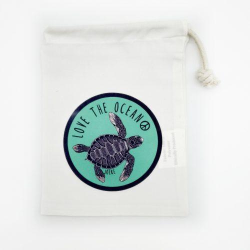 Drawstring bag – Turtle