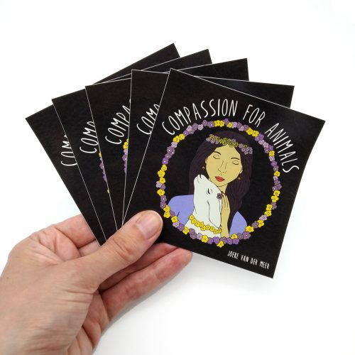 Stickers Compassion (4 pcs)