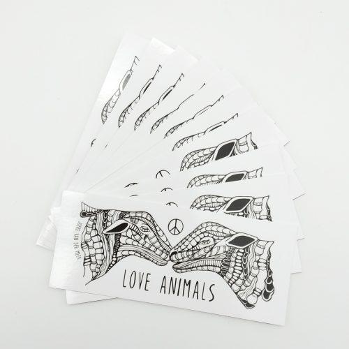 Stickers Love Animals – Sheep (10 pcs) 🐑🐑