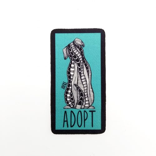 Sew-On Patch Adopt a Dog