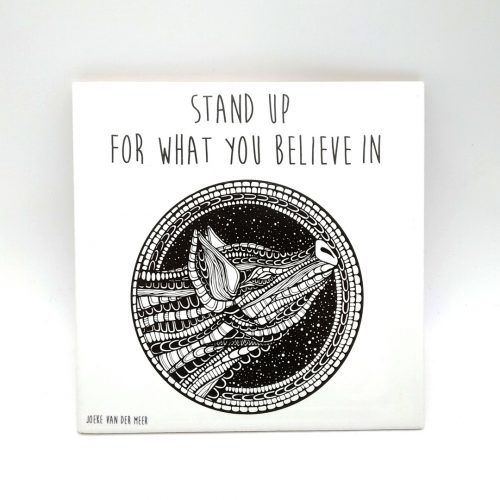 Tile Pig – Stand Up For What You Believe In