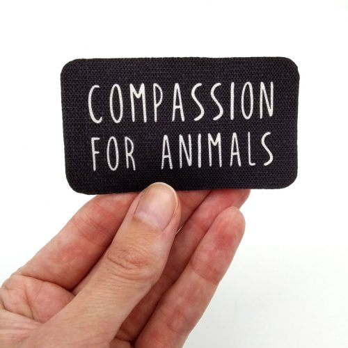 Sew-On Patch Compassion for animals