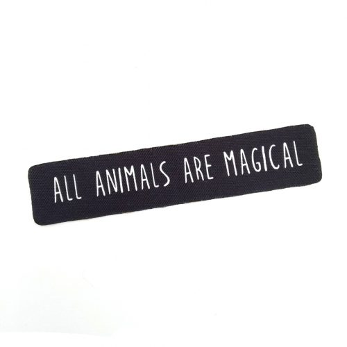 Sew-On Patch All animals are magical ✨