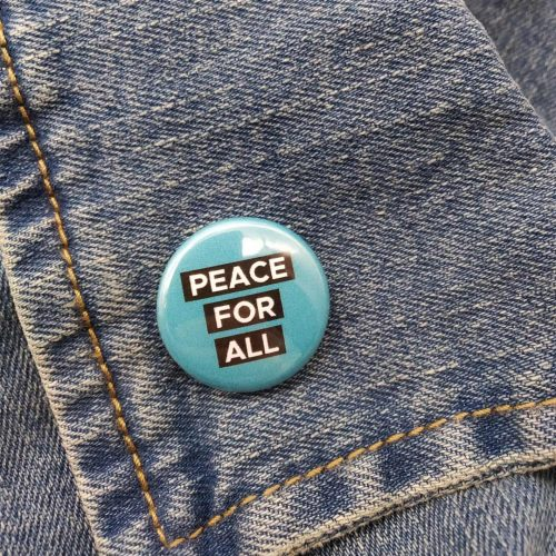 Pin – Peace For All