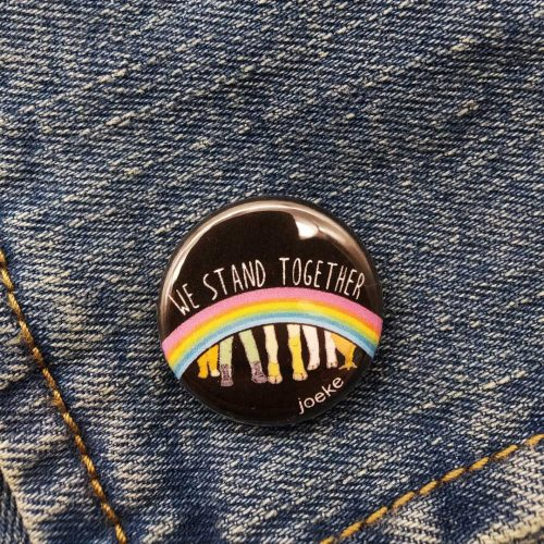 Pin – We stand together
