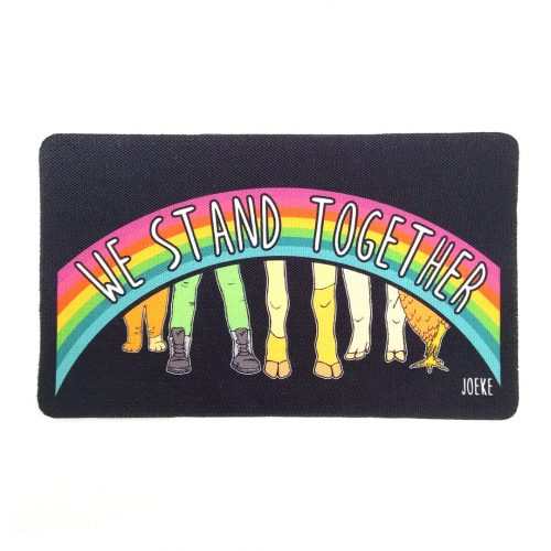 Sew-On Patch We stand together 🌈